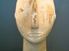 Head of Cycladic Statue